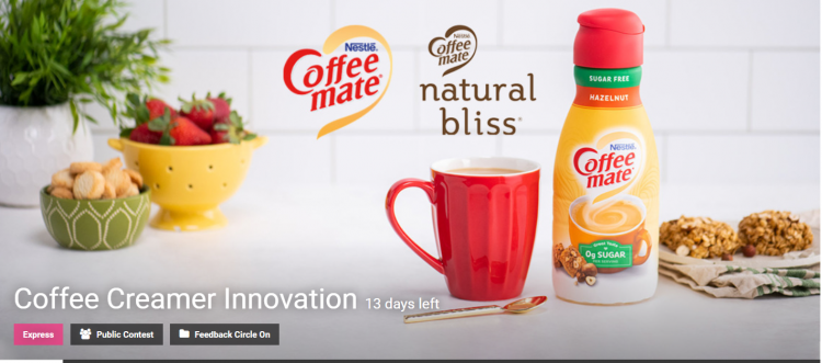 Coffee Creamer Innovation Competition