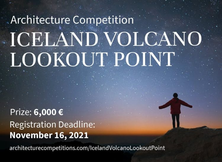 Iceland Volcano Lookout Point Competition