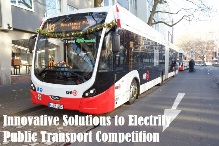 Innovative Solutions to Electrify Public Transport Competition