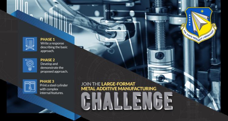 Large Scale Metal Additive Manufacturing AFRL Grand Challenge 4
