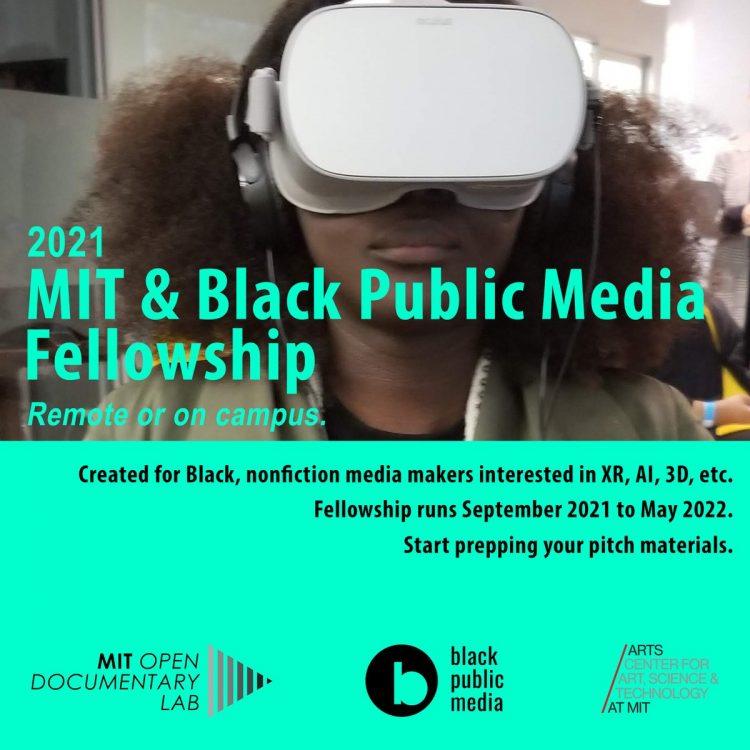 MIT & Black Public Media Fellowship 2021