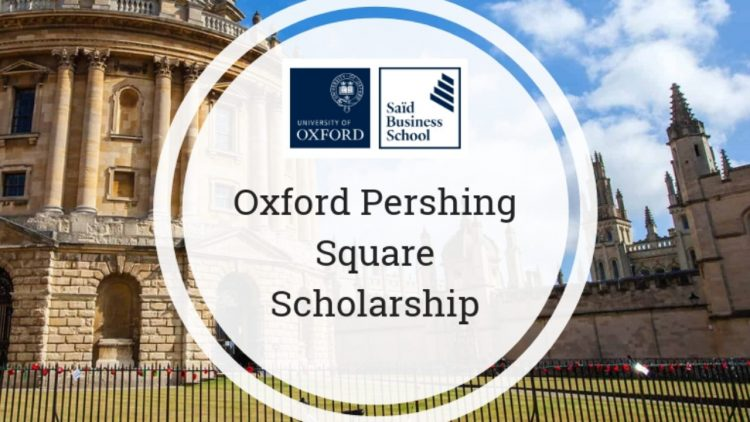 Oxford 1+1 MBA Pershing Square Scholarship