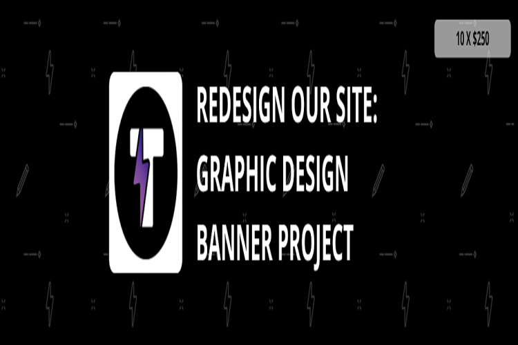Redesign Our Site Graphic Design Banner Project