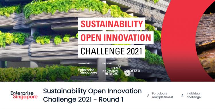 Sustainability Open Innovation Challenge 2021 - Round 1