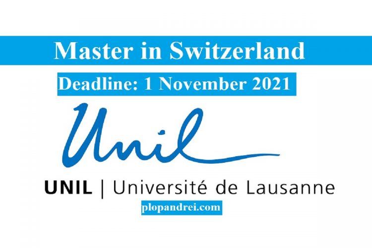 UNIL International Master's grants