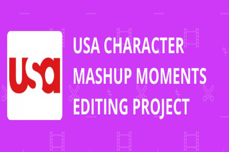 USA Character Mashup Moments Editing Project