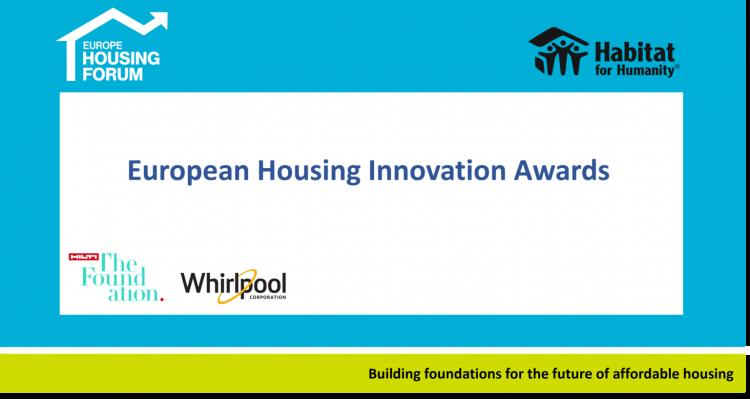 European Housing Innovation Awards