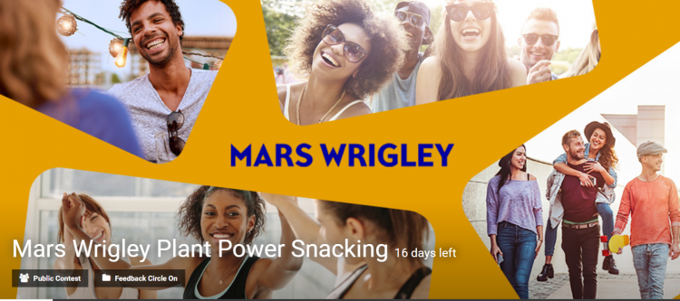 Mars Wrigley Plant Power Snacking Competition