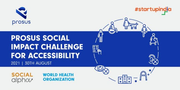 Prosus Social Impact Challenge for Accessibility