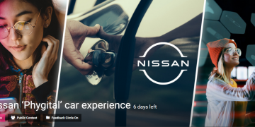 Let'S Get Phygital With A New Car Experience For Nissan Competition