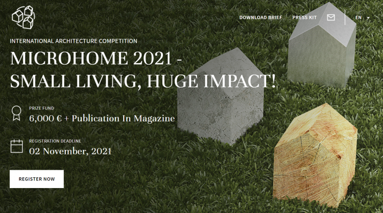 Microhome 2021 - Small Living, Huge Impact Competition