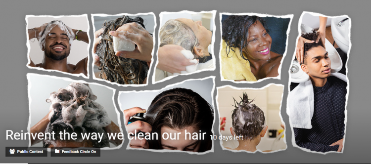 Reinvent The Way We Clean Our Hair Competition