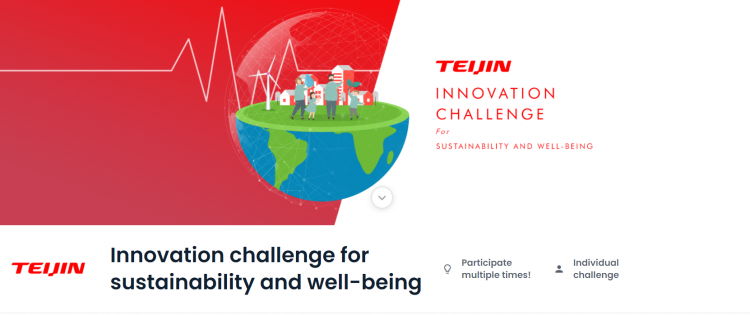 Teijin Innovation Challenge For Sustainability And Well-Being Competition