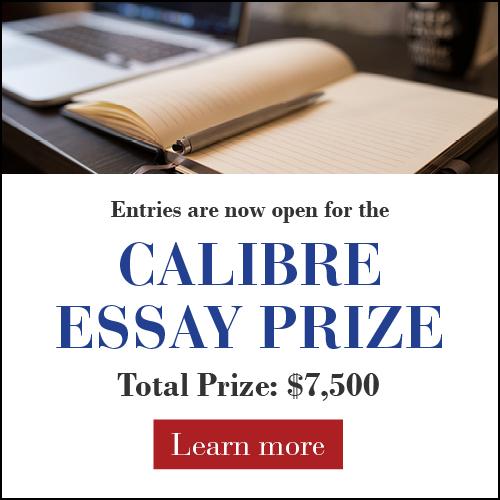 The 2022 Calibre Essay Prize