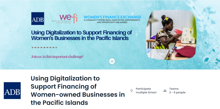 Using Digitalization to Support Financing of Women-owned Businesses in the Pacific Islands
