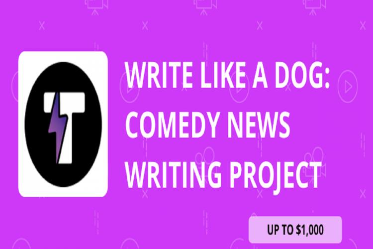 Write Like a Dog Comedy News Writing Project